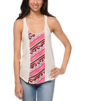Empyre Girls Greenville Vanilla White Racerback Tank Top