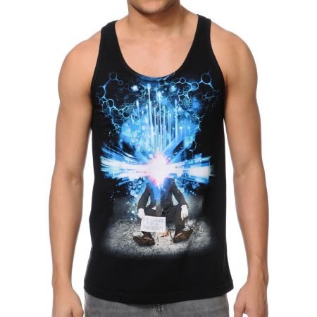 Imaginary Foundation Change For A Paradigm Black Tank Top