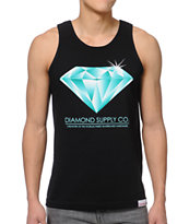 Diamond Supply Creators Black Tank Top