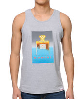 Diamond No.1 Diamond Heather Grey Tank Top