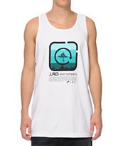 LRG Shine Blockers White Tank Top