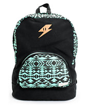 Empyre Girls Lucy Mint Tribal Print Backpack