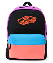 Vans Realm Neon Color Block Backpack