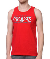 Crooks and Castles Royal Crooks Red Tank Top