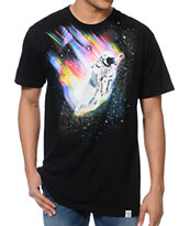 Imaginary Foundation Leap Black Tee Shirt