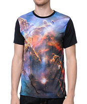 Imaginary Foundation Nebula Black Sublimated Tee Shirt