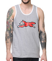 ICECREAM Running Dog Grey Tank Top