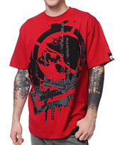 Metal Mulisha Disarm Red Tee Shirt