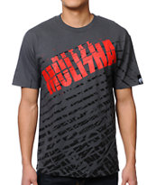 Metal Mulisha White Noise Charcoal Tee Shirt