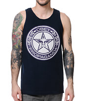 Obey Luxury Propaganda Navy Tank Top