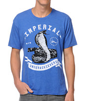 Imperial Motion Cobra Heather Blue Tee Shirt