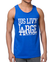 JSLV Livin Large Black Tank Top