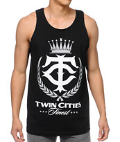 Rep Minnesota Twin Cities Finest Black Tank Top