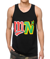 Rep Minnesota MN State Of Mind Black Tank Top