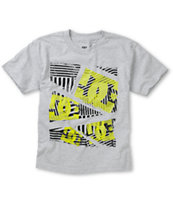 DC Boys Dropper Grey Tee Shirt