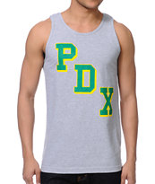 Casual Industrees PDX Grey Tank Top
