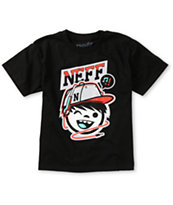Neff Boys Cordy Black Tee Shirt
