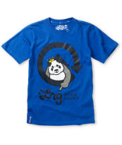 LRG Boys Homeboy Panda Blue Tee Shirt