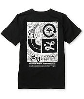 LRG Boys Inventive Black Tee Shirt