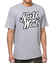Casual Industrees The Northwest Grey Tee Shirt