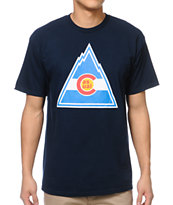 Casual Industrees Rockies Navy Tee Shirt