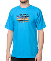 Casual Industrees El WA Brah Teal Tee Shirt