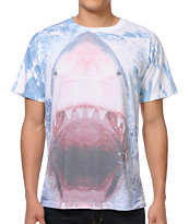 A-Lab Shark Sneak White Tee Shirt