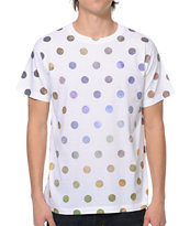 A-Lab Galactic Dots White Tee Shirt