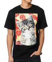 A-Lab Pizzas Best Friend Black Tee Shirt