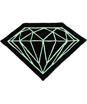 Diamond Supply Co Brilliant Black & Diamond Blue Rug