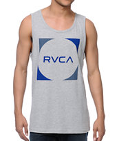 RVCA Baller Heather Grey Tank Top
