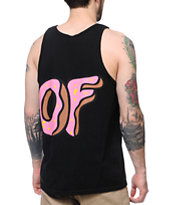 Odd Future OF Donut Black Tank Top