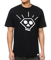 Diamond Supply Skull Black Tee Shirt