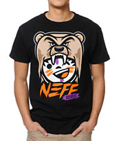 Neff Vicious Black Tee Shirt