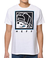 Neff Kensquared White Tee Shirt