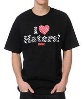 DGK Haters Wildlife Black Tee Shirt