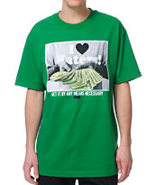 DGK By Any Means Green Tee Shirt