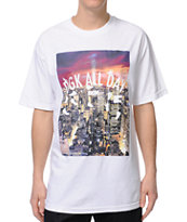 DGK All Day Nite Life White Tee Shirt