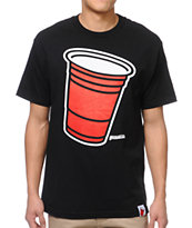 Booger Kids Party Cup Black Tee Shirt