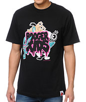 Booger Kids Booger Monster Black Tee Shirt