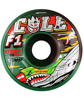 Spitfire Cole Zombie Warhawk Camo 53mm Skateboard Wheels