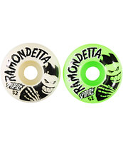 Spitfire Ramondetta Ghouls Mash 52mm Skateboard Wheels