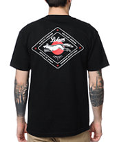 Bohnam Supply Co Cunning Black Tee Shirt