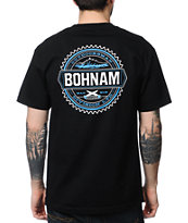 Bohnam Supply Co Foothills Black Tee Shirt