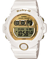 G-Shock BG6901-7 Baby G Glossy White & Gold Watch