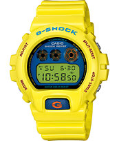 G-Shock DW6900PL-9 Yellow Watch