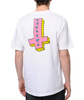 Odd Future Its Us Cross Donut White Tee Shirt