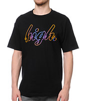 Odd Future High Gradient Black Tee Shirt