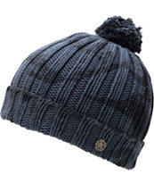 Obey Cold Wind Blue Pom Beanie