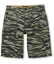 LRG OG Army Tiger Camo Shorts